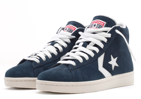 71b1b575b129 Look for the Converse Pro Leather Suede this August at Converse retailers.
