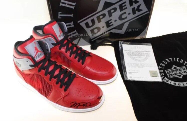 d3cbb8cf6088 20 Michael Jordan-Autographed Air Jordans You Can Grab on eBay Right ...