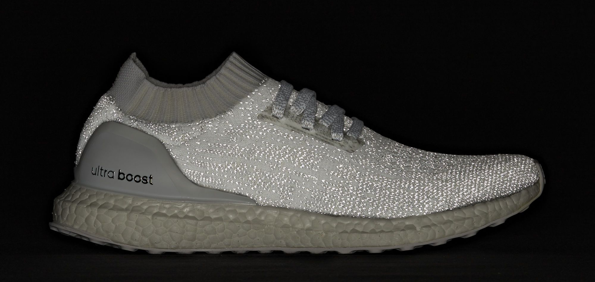 46ec3f5d8d77e Image via Adidas Adidas Ultra Boost Uncaged White Reflective Flash