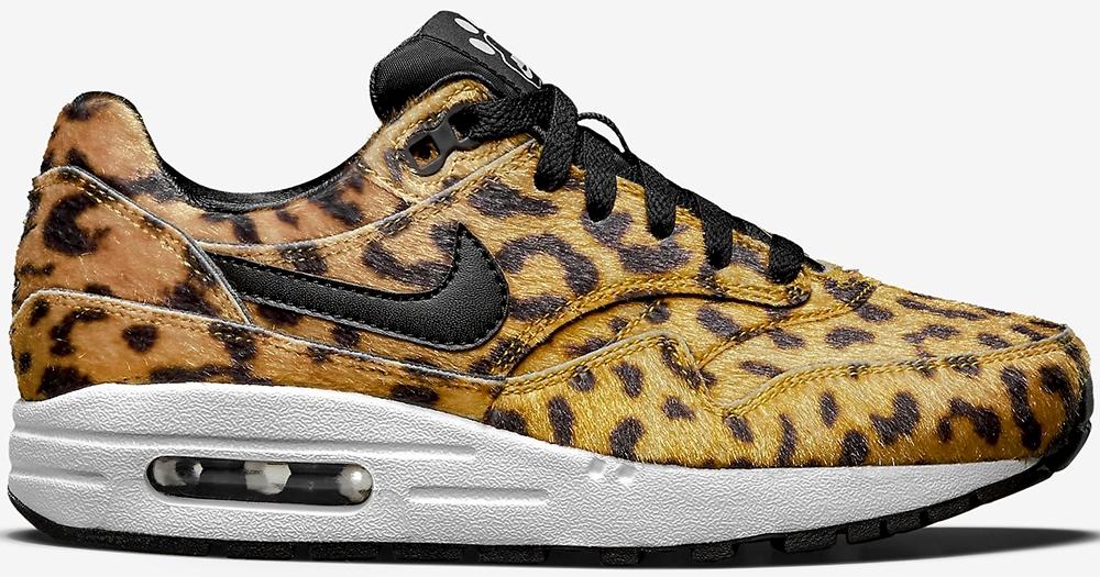 online retailer 4c521 8b60f ... Womens 8 Nike Air Max 1 GS Leopard ...