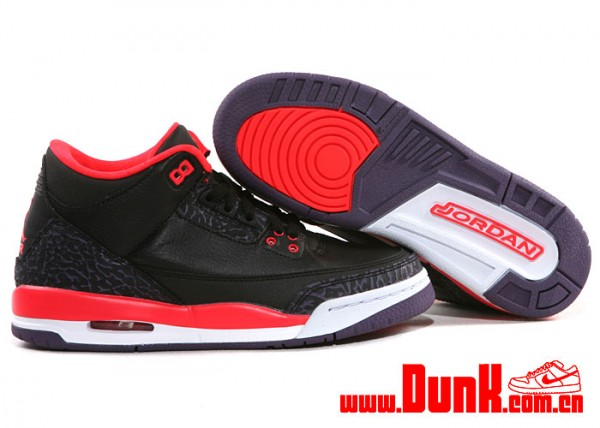 Collector Air BlackBright CrimsonSole 3 GS Jordan Retro uPiXZTkO