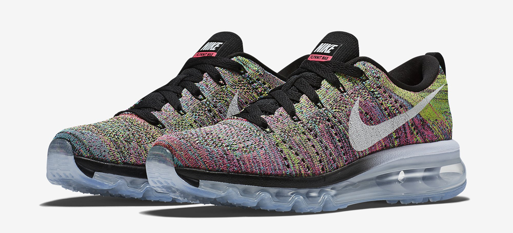 low priced 0d215 c832e Nike Is Finally Releasing 'Multicolor' Flyknit Air Maxes ...
