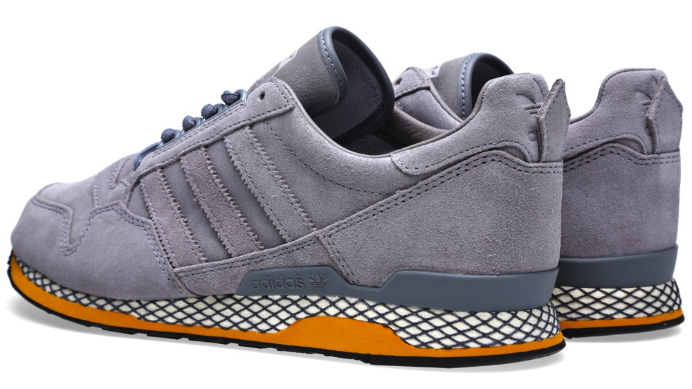 adidas Originals 84-Lab by Kazuki Kuraishi ZXZ ADV in Tech Grey heel