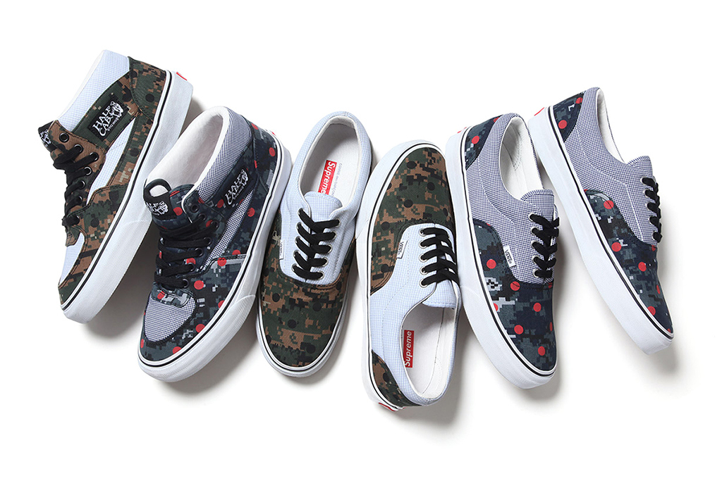 e44084cb16ff Supreme x Vans x COMME des GARCONS SHIRT Capsule Collection | Sole ...