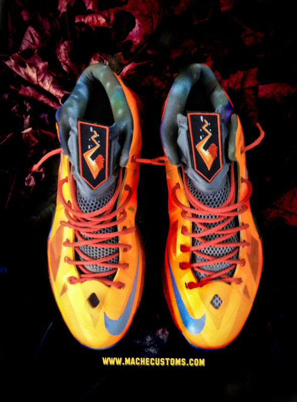 Nike LeBron X Big Bang by Mache Custom Kicks (2)