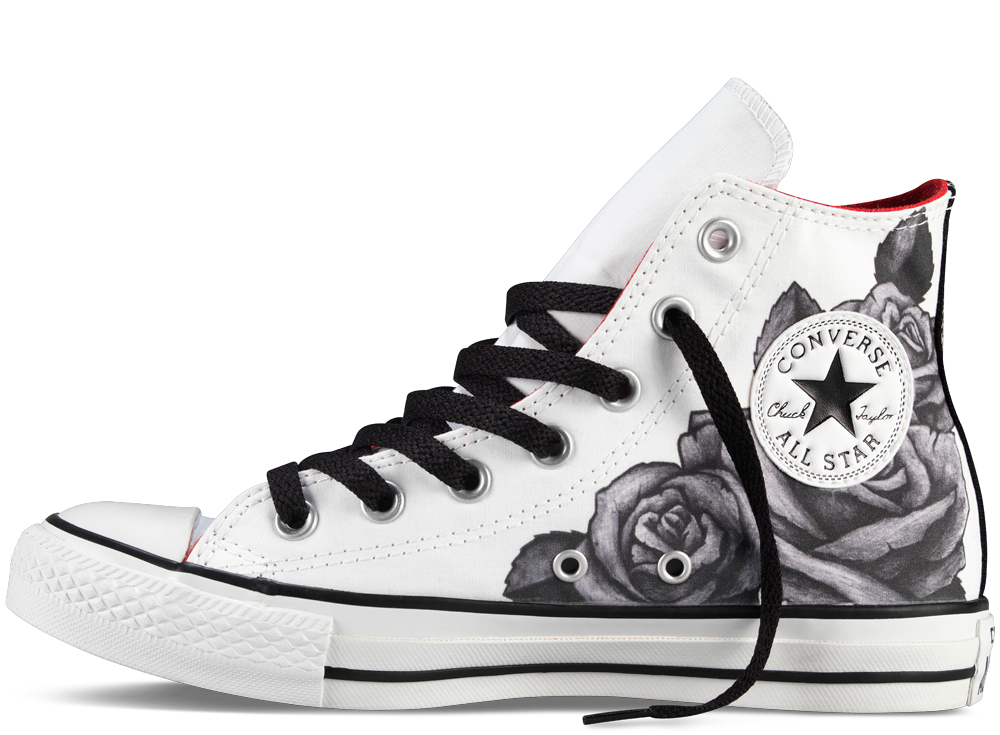 Paint Converse Shoes Black