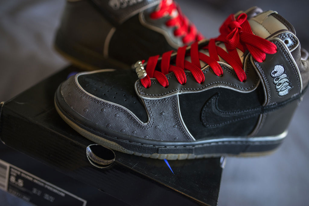 Spotlight // Pickups of the Week 10.6.13 - Nike Dunk High SB MF Doom by LSean