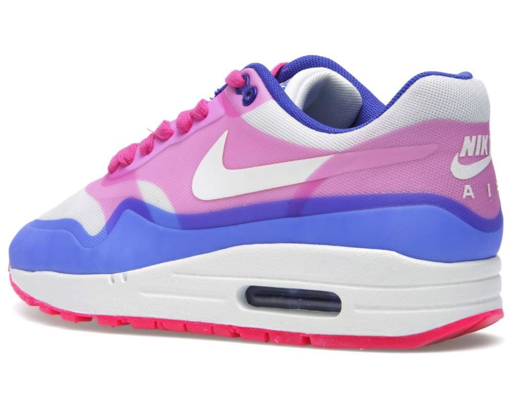 nike wmns air max 1 hyperfuse prm pink force hyper blue sole rh solecollector com