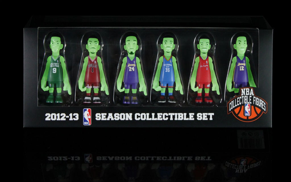 MINDstyle x CoolRain NBA Glow in the Dark Figurines - BAIT Exclusive (1)