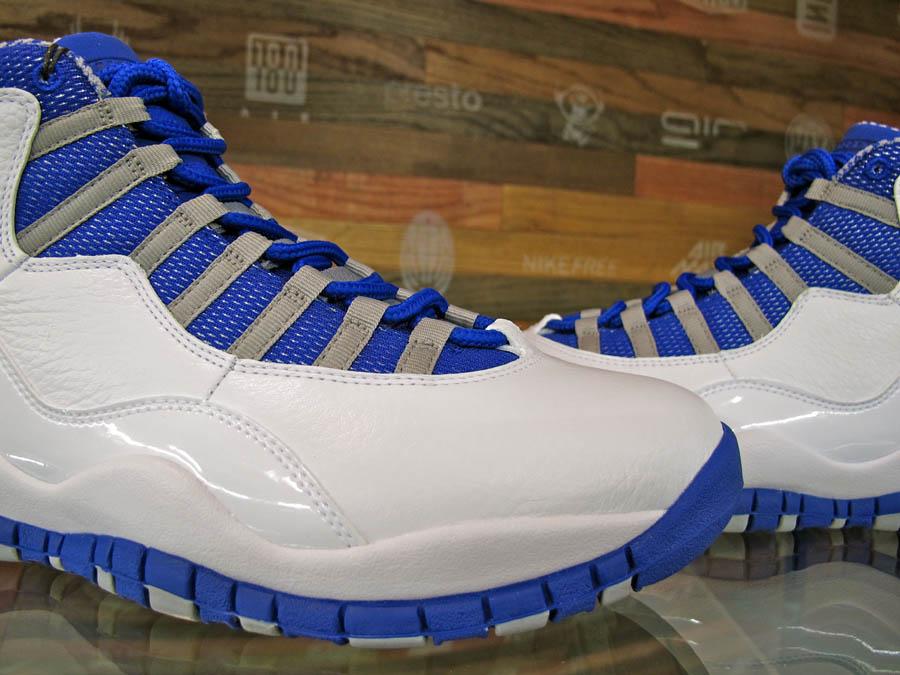 hot sale online 82d2e cf36a ... order air jordan 10 x white old royal stealth shoes new 487214 107 3  bdf55 6e461