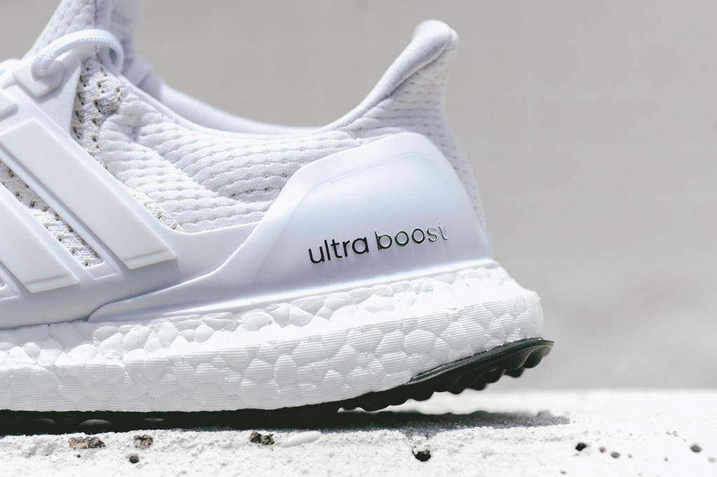 Adidas Ultra Boost Triple White Wallpaper