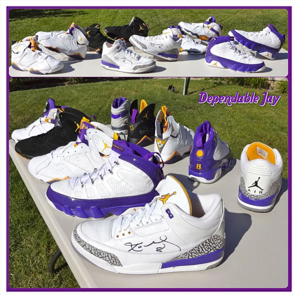DependableJay Kobe Bryant Air Jordan PE Collection (1)