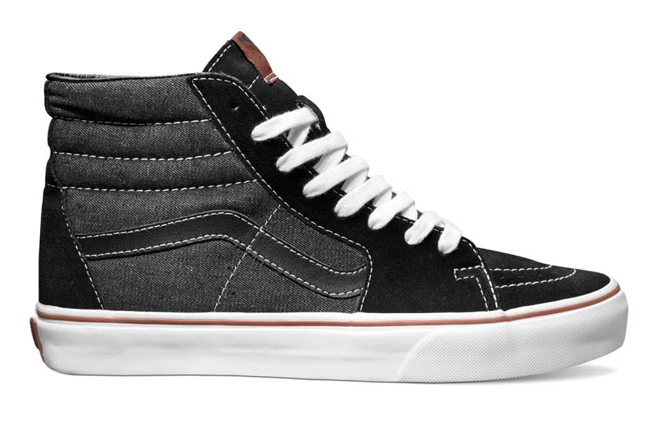 75d0f979807623 All four Denim Pack shoes are available at select Vans retailers now