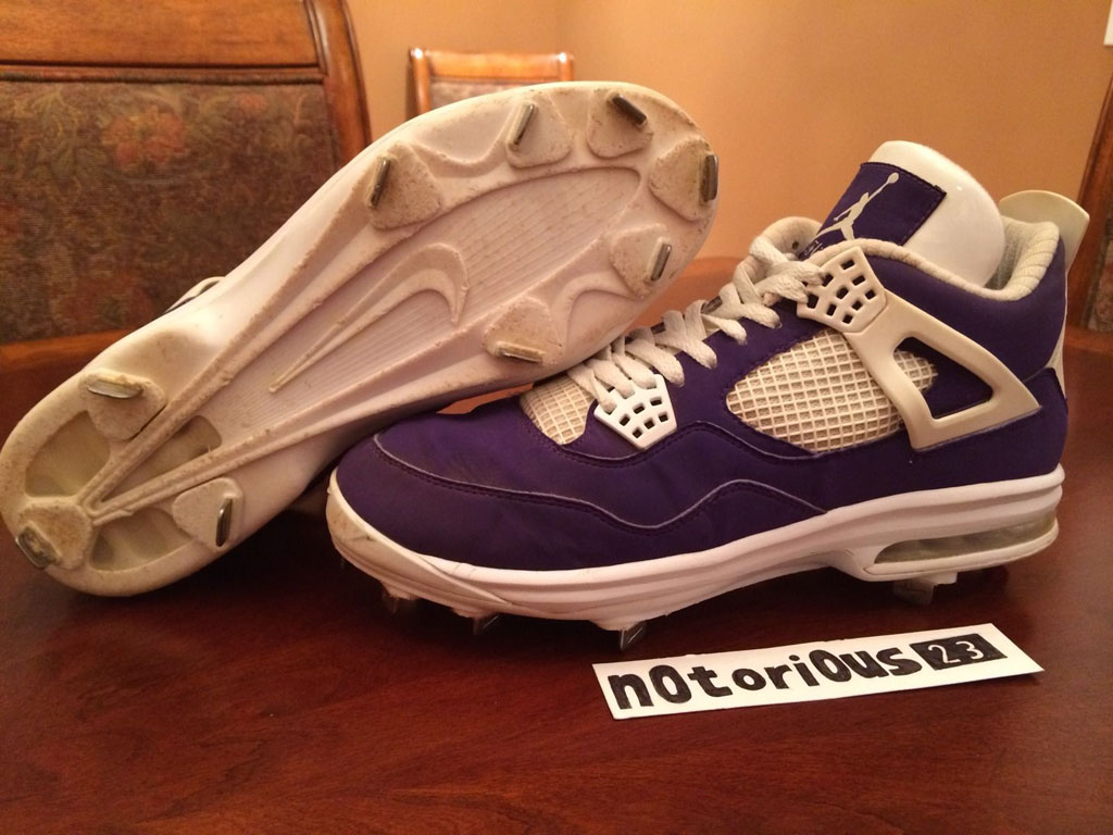 Air Jordan IV 4 Purple Suede Sunset Apollos PE (12)
