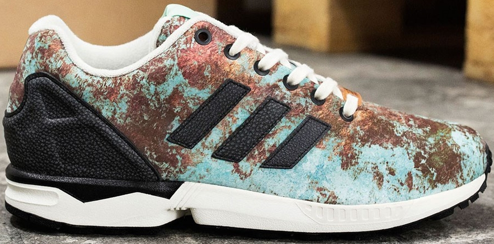 adidas Originals ZX Flux Copper/Mint Green-Black