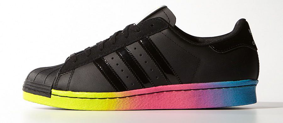 Rita Ora x adidas Originals Superstar 80s Colorblock