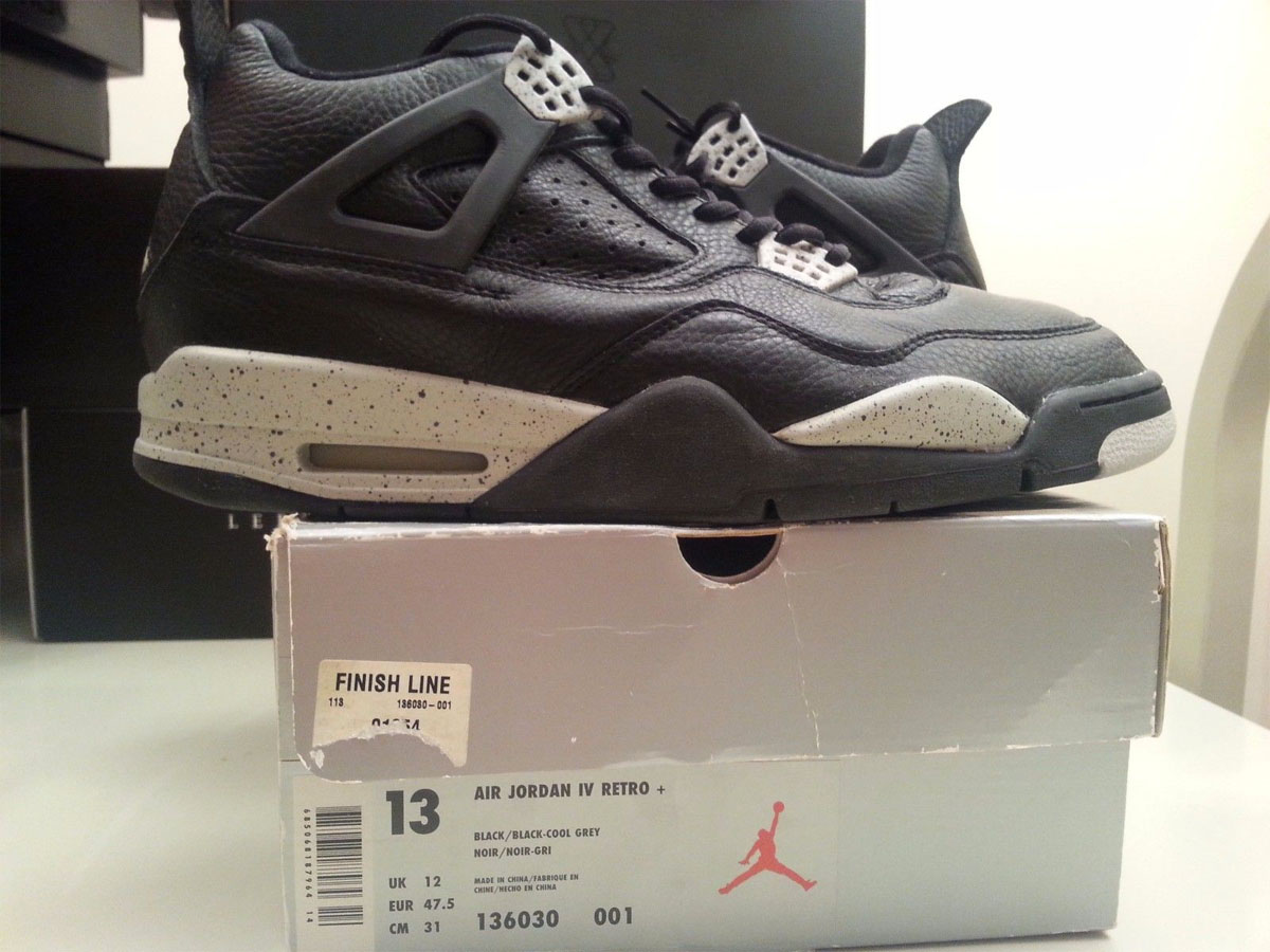 Air Jordan 4 Oreo App Ebay Uk
