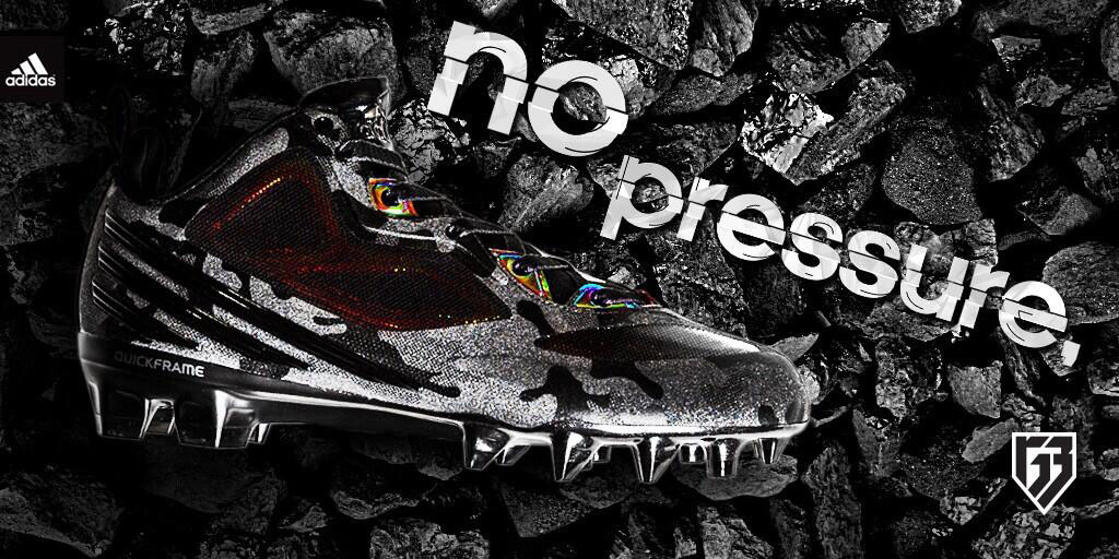adidas RG3 'No Pressure' Available