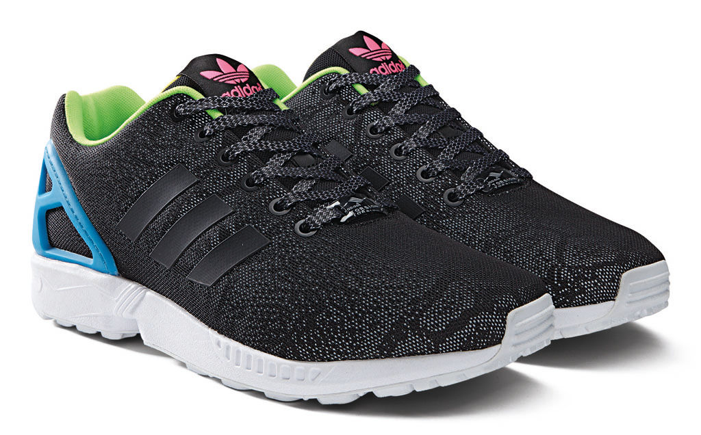 adidas ZX Flux Reflective Snake Pack Black (2)