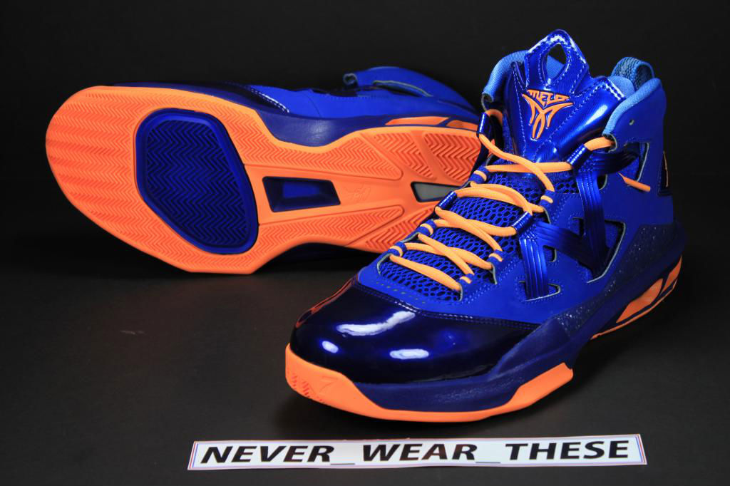 cheap for discount 9d7f1 0dc73 Jordan Melo M9 - NYC Alternate Sample | Sole Collector