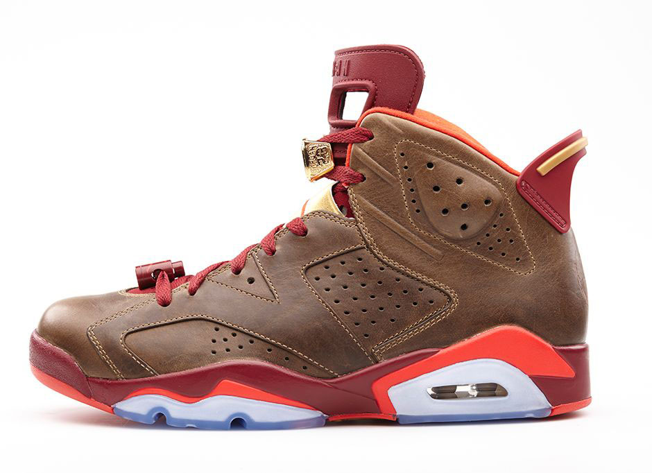 Air Jordan VI 6 Celebration Cigar 384664-250 (2)