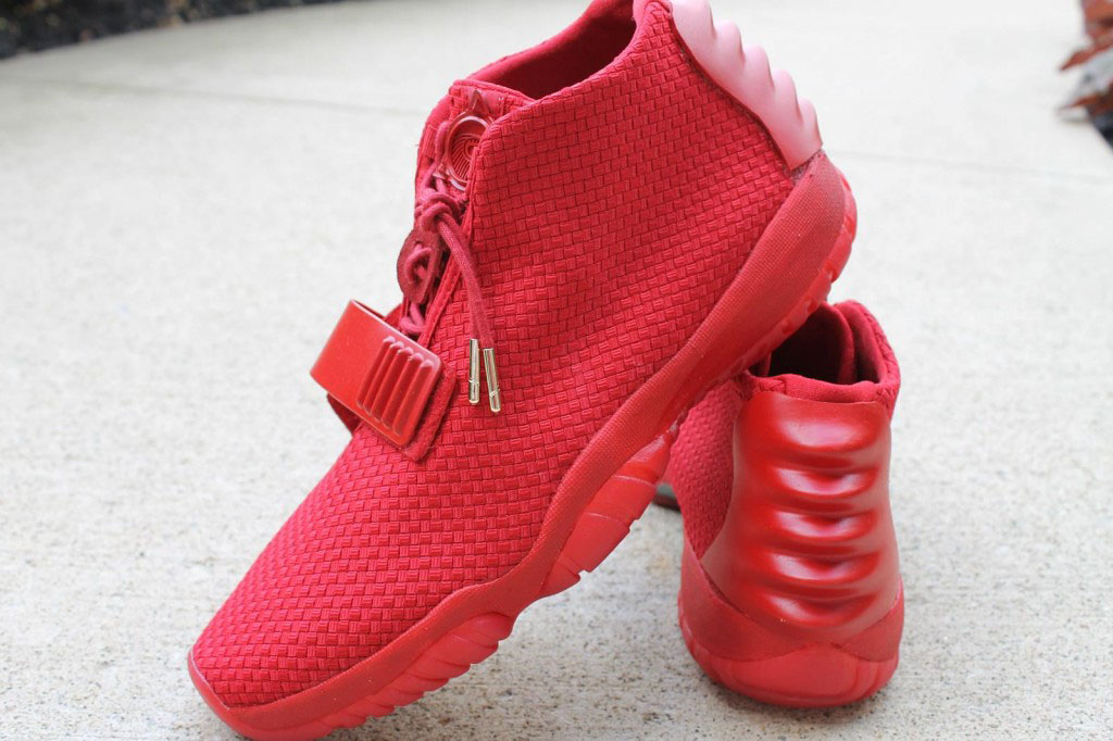 a8281d7d4 Air Jordan Future x Nike Air Yeezy 2  Red October  by Aristat26 ...