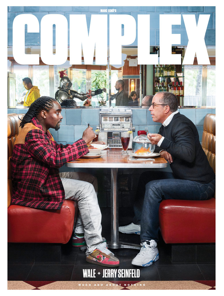 Jerry Seinfeld and Wale Discuss