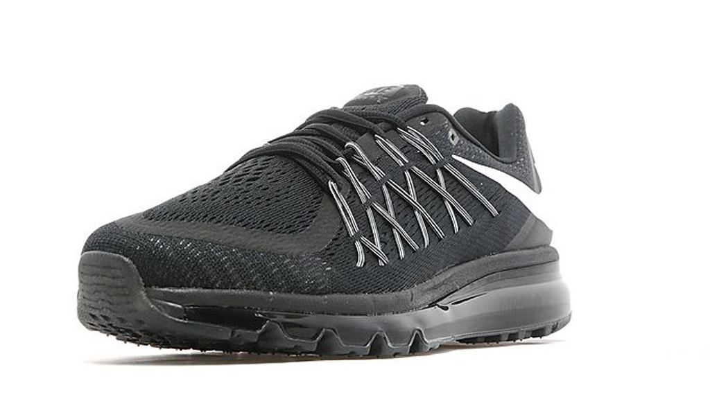 The Nike Air Max 2015 Stays Classic In All Black  6da249100