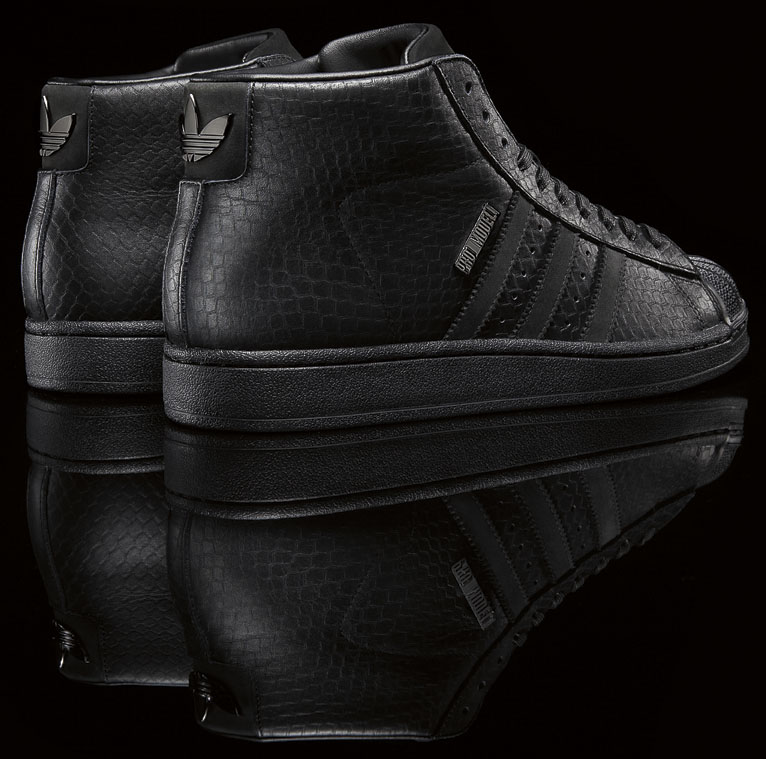 Big Sean x adidas Originals Pro Model II Black (3)