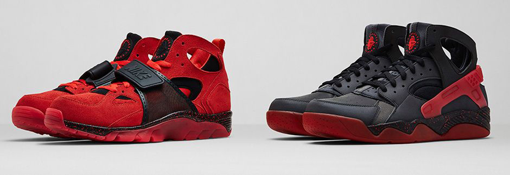 size 40 72aa8 a20d8 Along with the Nike Air Huarache, both the Flight and Trainer editions will  also be apart of the  Love Hate  Pack.