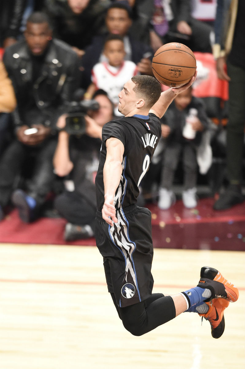 Zach LaVine Wearing the Nike Hyperdunk 2015 Low (1)