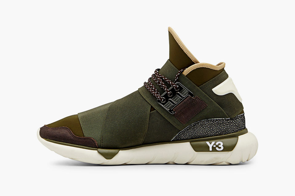 78d5644b8299 adidas Y-3 Qasa High in Khaki (3)