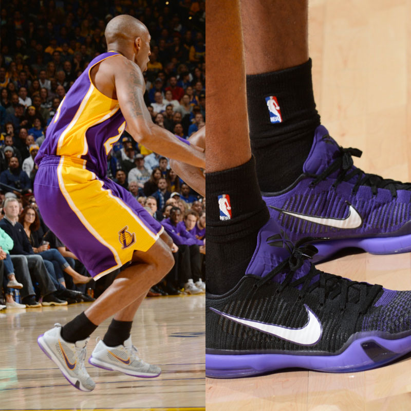 #SoleWatch NBA Power Ranking for November 29: Kobe Bryant