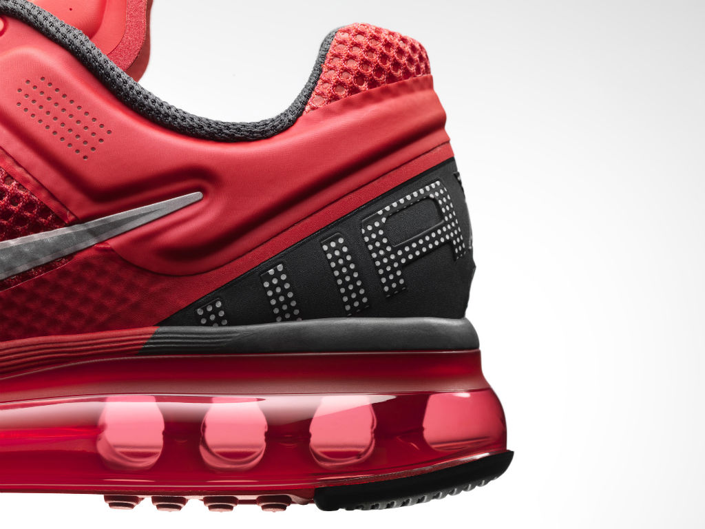 Nike Air Max+ 2013 Womens Red (3)