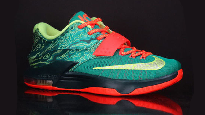the best attitude 80b3f d6eac Shoe  Nike KD 7. Style No.  653996-303. Colorway