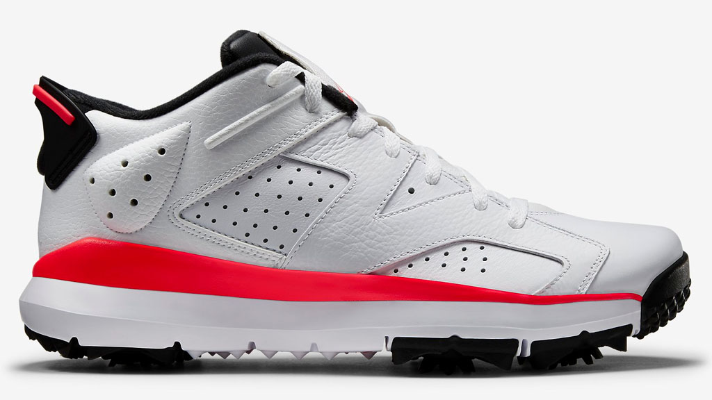 Air Jordan 6 Golf White/Infrared Release Date 800657-123
