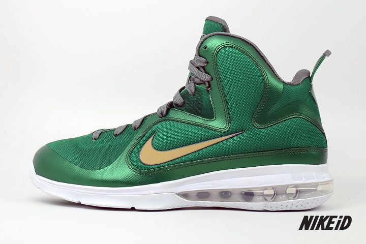 ... the official release of the LeBron 9 nationwide, it's also the first  opportunity for fans of the King's shoe to create their own colorways on  NIKEiD.