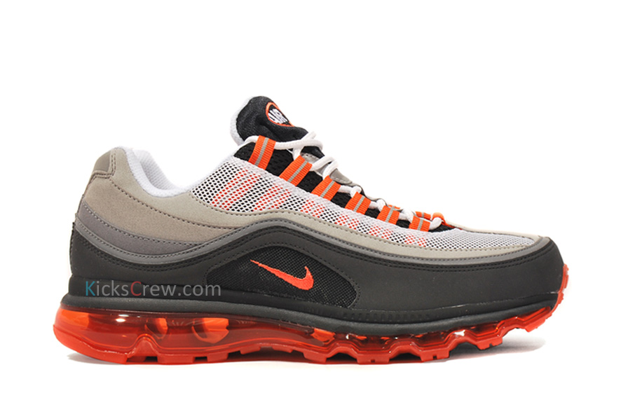 Nike AIR MAX 2013 Leather Men's Sports SHOES 599455 010 SIZE