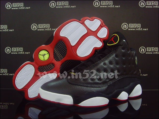 f85275b53f6b Air Jordan Retro 13 Black Varsity Red White Vibrant Yellow 414571-001
