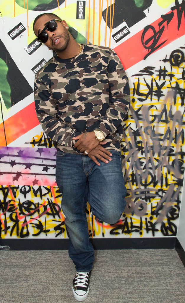 Omarion wearing Converse Chuck Taylor All Star