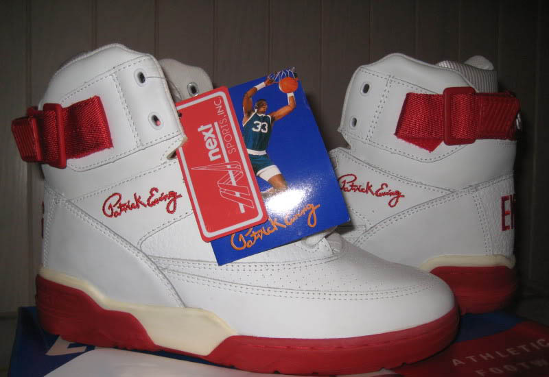 Ewing 33 Hi White Red