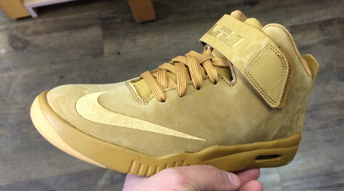 d7bd3e43fcd Nike Made Another  Wheat  LeBron Shoe