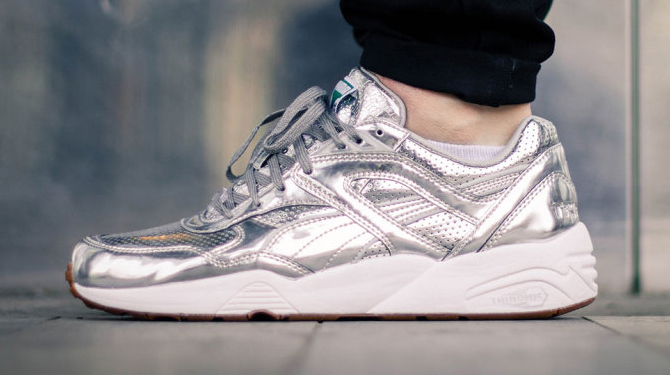 8bf17d632fe9 Alife and Puma break necks with this liquid silver edition. By Brendan Dunne