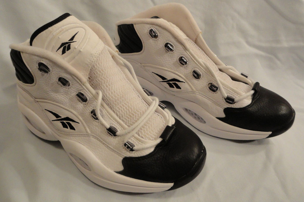 Reebok Question White/Black Sole