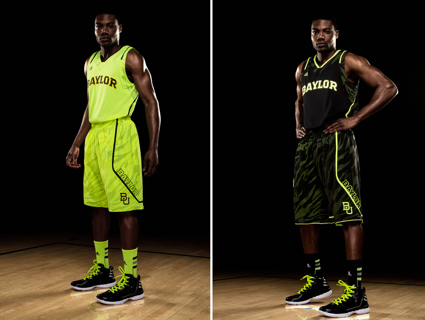 adidas adiZero Uniforms Baylor Bears Home & Away