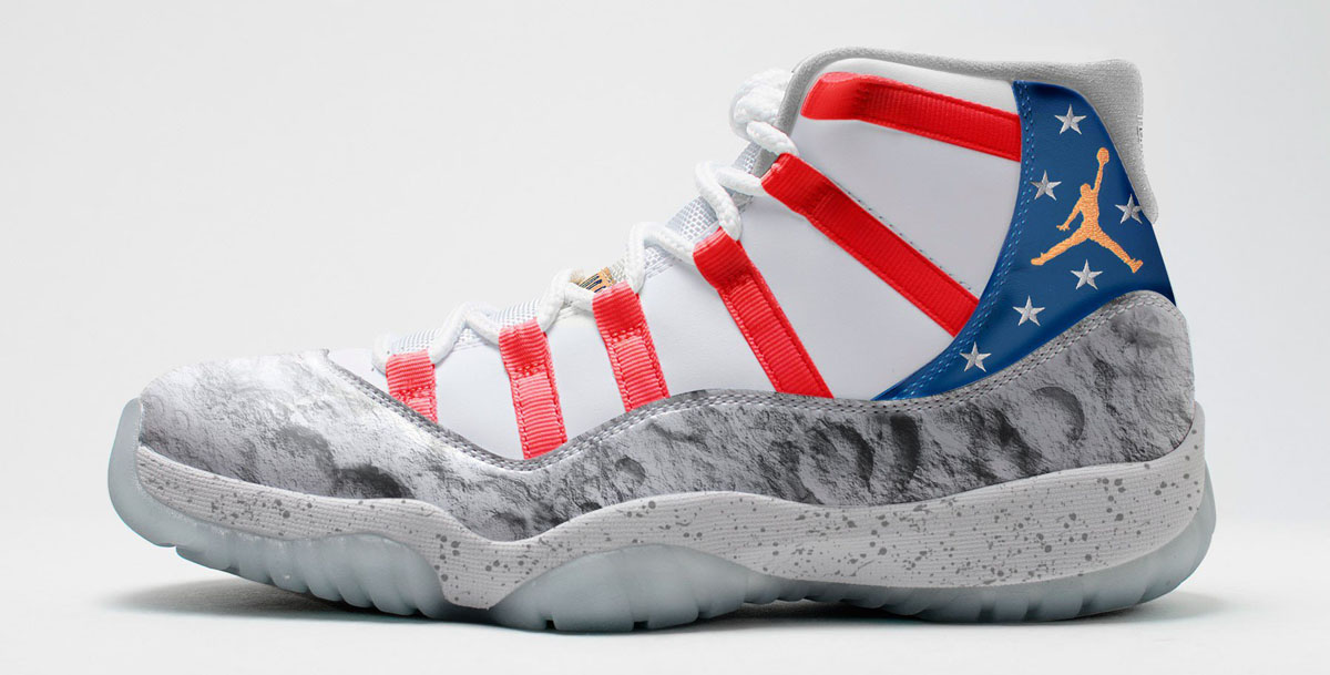 more photos 4e287 6049d Air Jordan 11 Moon Landing (1)