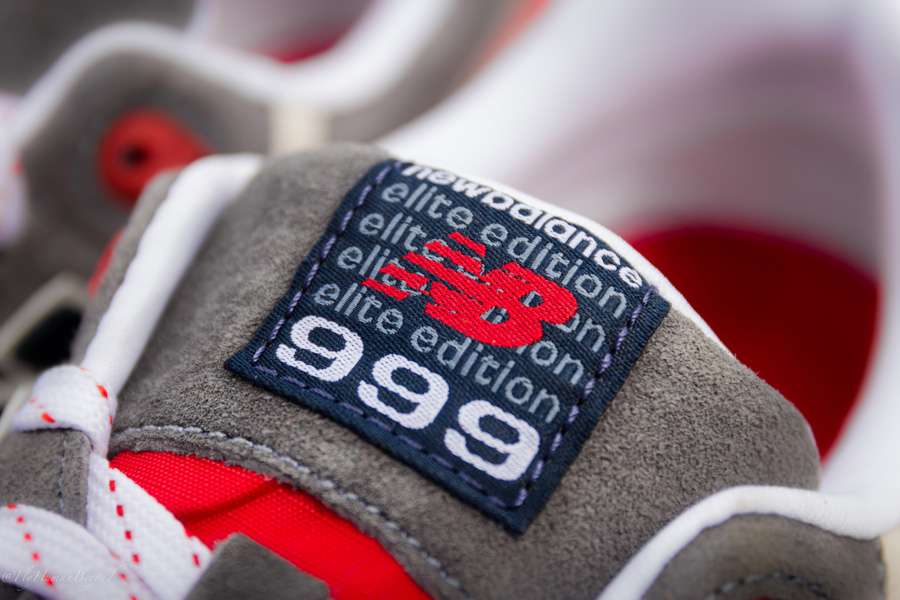 ... The Grey/Red Elite Edition 999 is available now at select New Balance  retailers, ...