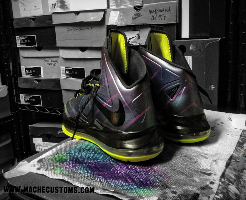 Nike LeBron X Phantom by Mache Custom Kicks (4)