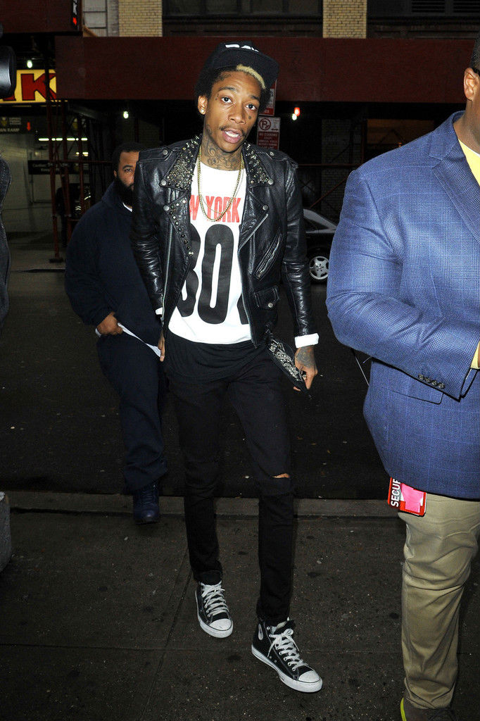 Wiz Khalifa New Converse Shoes