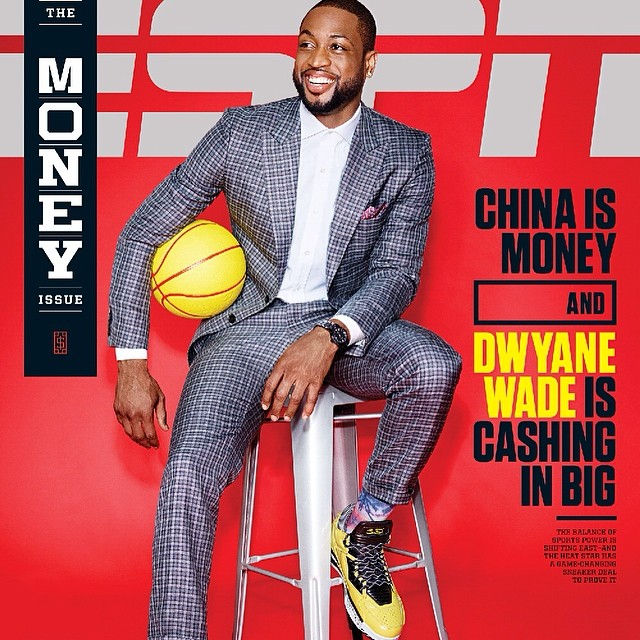 Dwyane Wade wearing Li-Ning Way of Wade 2 Say Yellow